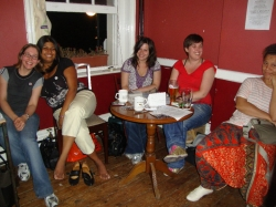 Fundraising for Feminism in London 2010