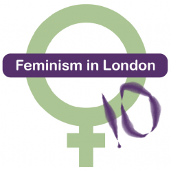 Feminism in London 2010 logo