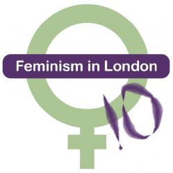 Feminism in London 2010 logo